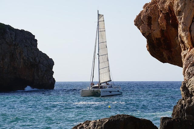 hiring a catamaran in mallorca