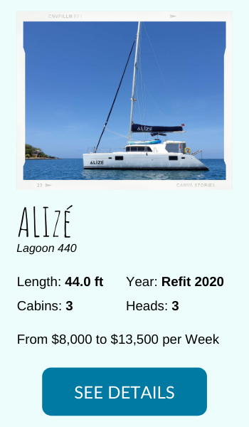 Alize all inclusive charter