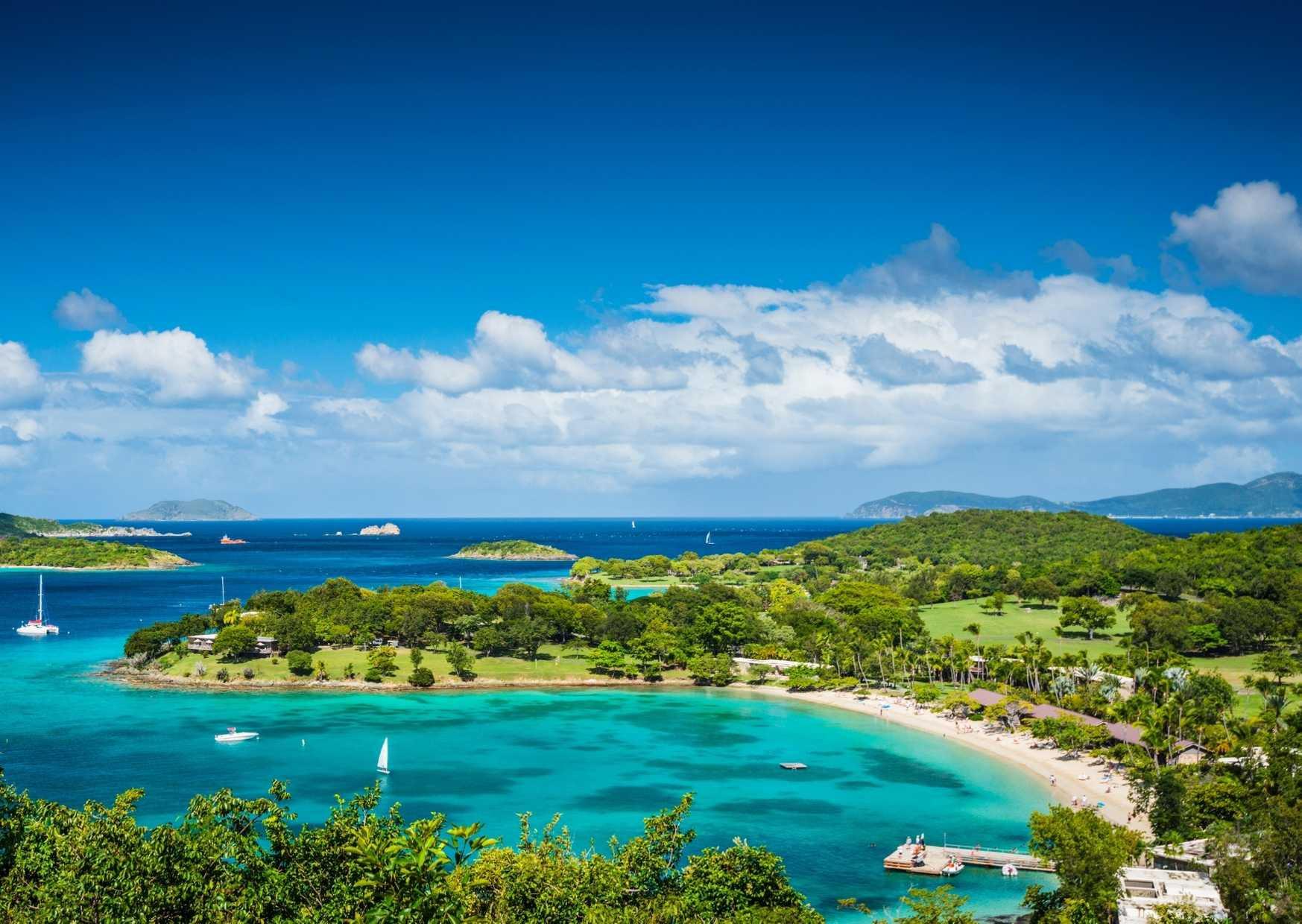 Customized USVI itinerary from our recent client Sean